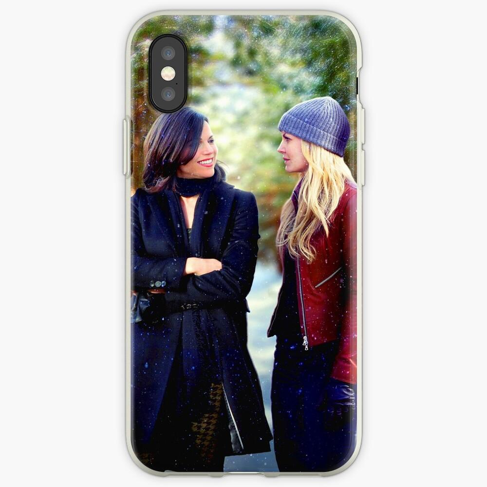 Swan Queen Winter Stroll iPhone Case & Cover