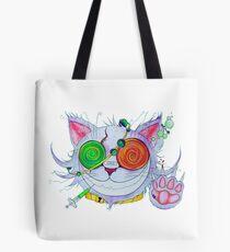 Psychocat Tote Bag