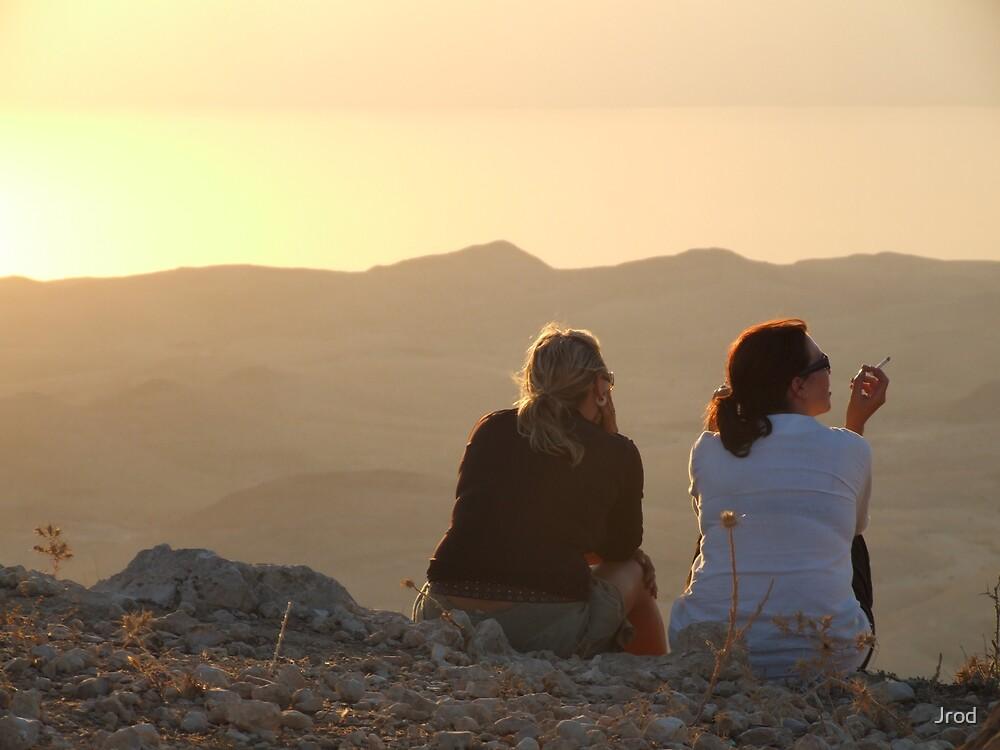Dead Sea Sunset by Jrod