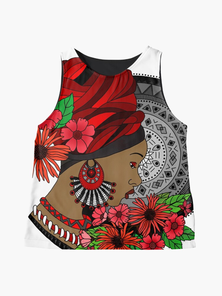 Alternate view of The Tribal Sleeveless Top