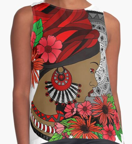 The Tribal Sleeveless Top