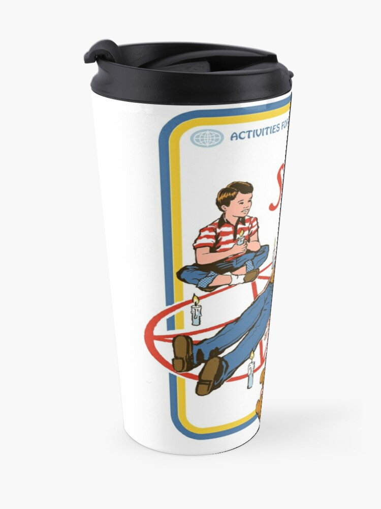 Alternate view of Let's Summon Demons Travel Mug