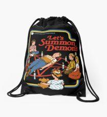 Let's Summon Demons Drawstring Bag