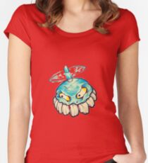 Bad Ass Blader from Mega Man Women's Fitted Scoop T-Shirt