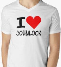 I Heart Johnlock - Sherlock T-Shirt