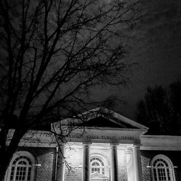 Reading by moonlight by KENDALLMcKERNON