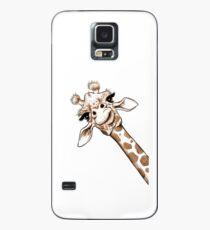 Skizze Giraffe Kunst Hülle & Klebefolie für Samsung Galaxy