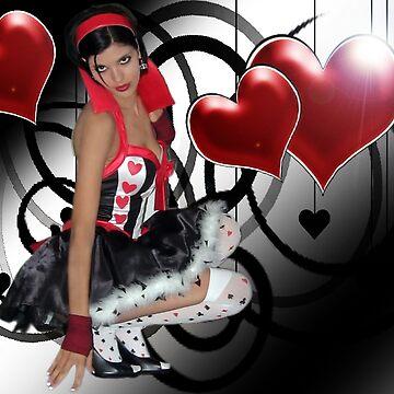 Queen Of Hearts by coyotepam