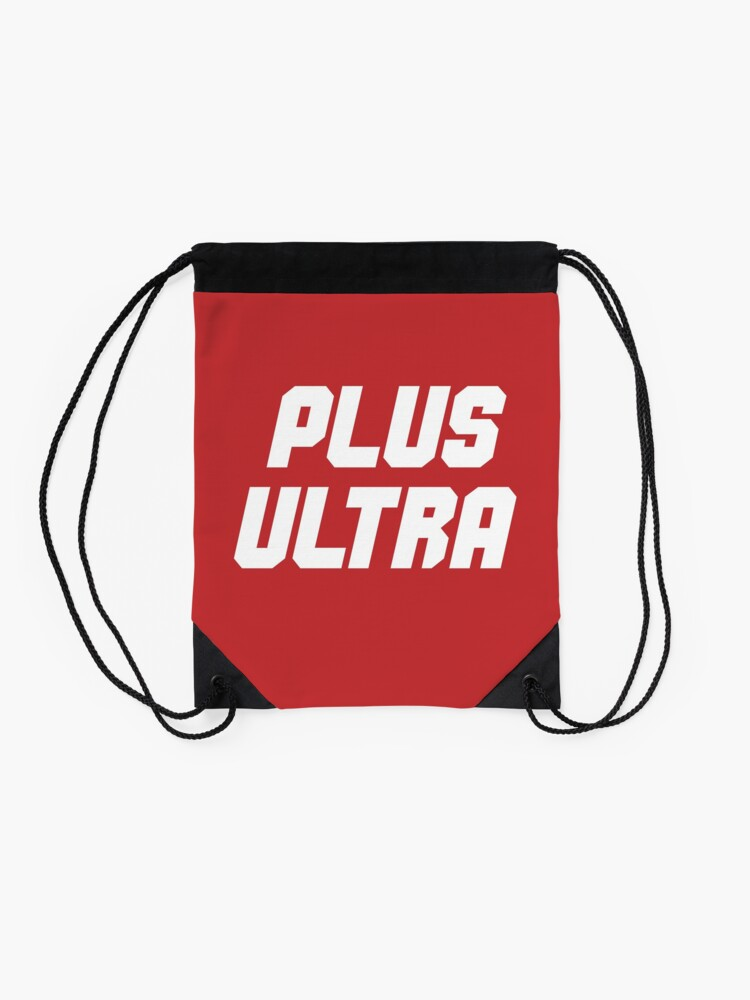 "Alternate view of My Hero Academia® - ""Plus Ultra"" Drawstring Bag"