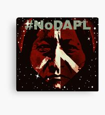 #STANDWITHSTANDINGROCK Canvas Print