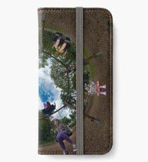 6 Seater Swing - Sky In iPhone Wallet/Case/Skin