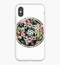 Vinilo o funda para iPhone Logotipo floral de espinas de Portland