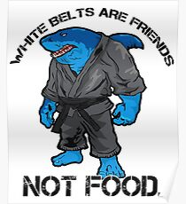 Bjj Shark  Poster