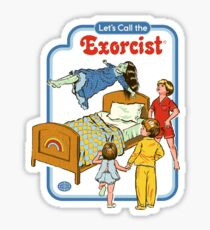 Let's Call the Exorcist Sticker