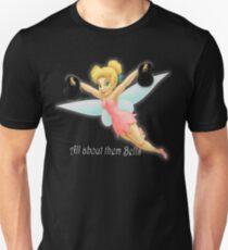 Tinkerbell Lifting Kettlebells Unisex T-Shirt