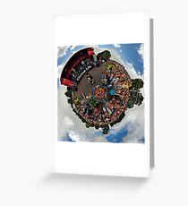 Teenage kicks - The Undertones play Brooke Park Greeting Card
