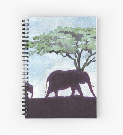 Africa's Grandest Animal Spiral Notebook