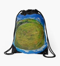 SlieveLeague from the Banks of the Glen River, near Carrick Drawstring Bag