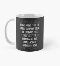Words of wisdom from Gandalf Mug
