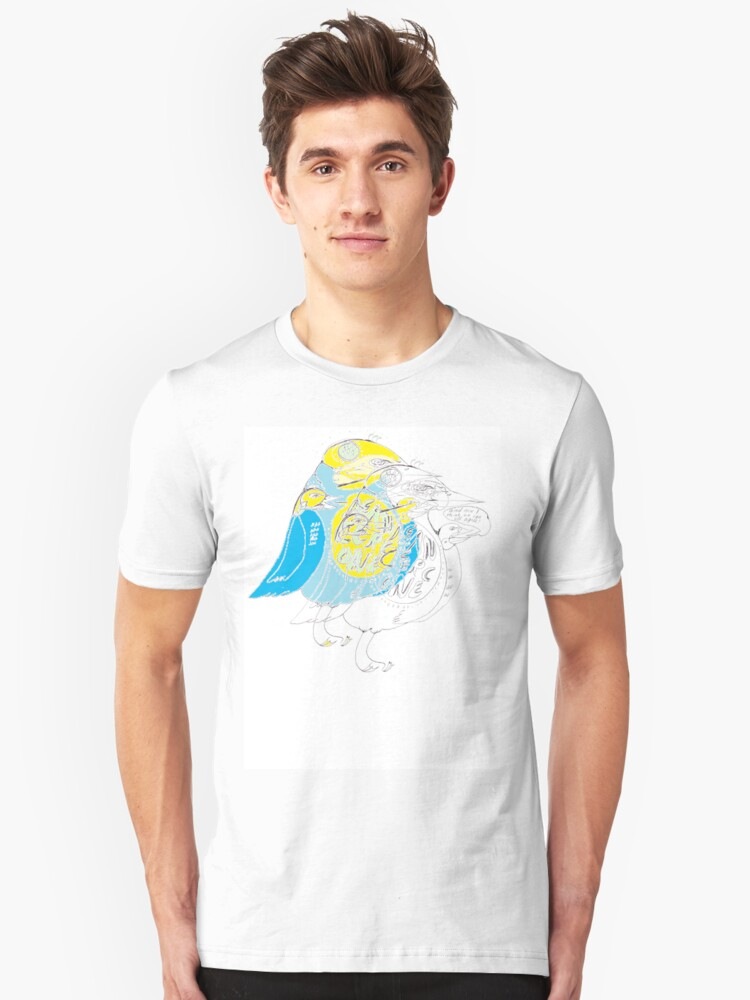 """BIRD SHIRT """"AND I THINK WE CAN ALL AGREE"""" Unisex T-Shirt Front"""