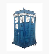 Tardis - Dr Who Photographic Print