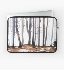 The colour of Winter is in the imagination Laptop Sleeve