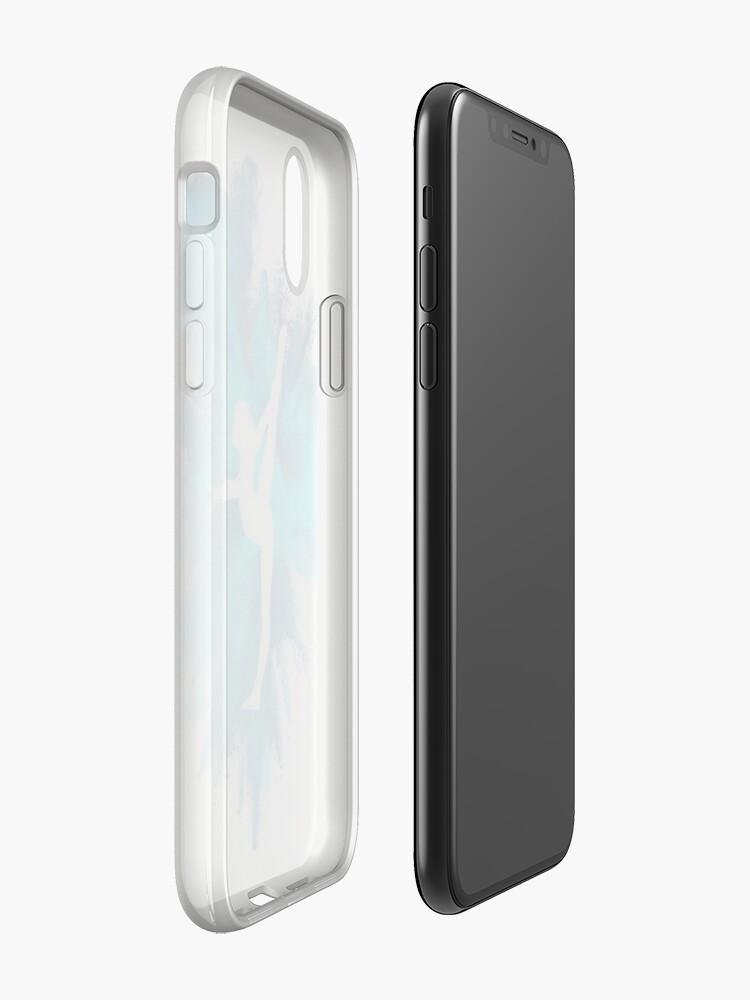 Alternative Ansicht von Turner Silhouette - blaue Explosion iPhone-Hüllen & Cover