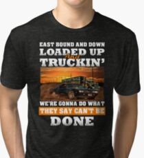 East Bound And Down Tri-blend T-Shirt