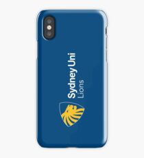 Sydney Uni Lions branded items iPhone Case
