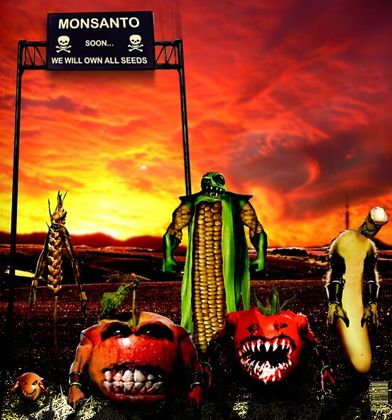 GMO - Monsanto by Poderiu ^