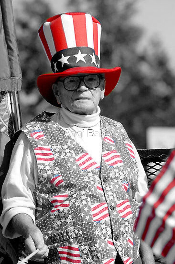 Uncle Sam Suess Two by Angi Baker