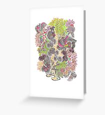 The Treetops Greeting Card
