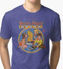 Devil's Music Sing-Along Tri-blend T-Shirt