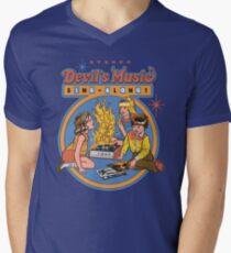 Devil's Music Sing-Along Men's V-Neck T-Shirt