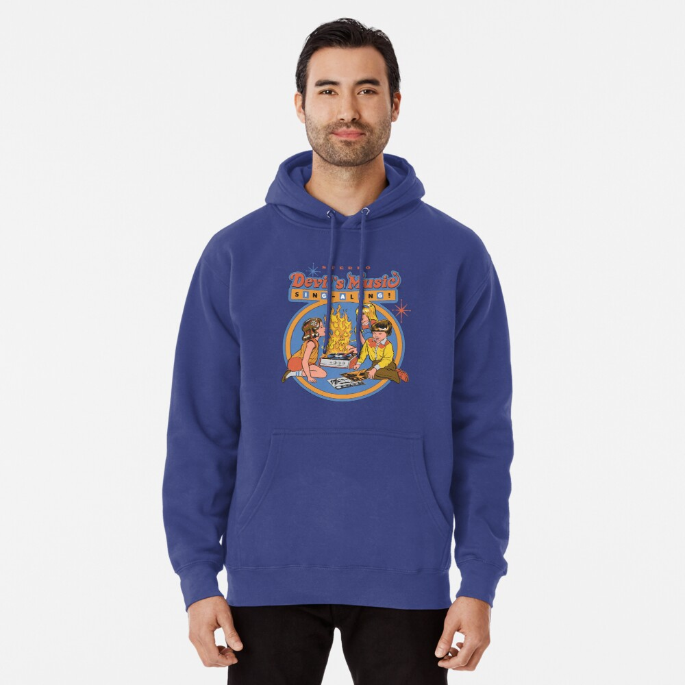 Devil's Music Sing-Along Pullover Hoodie