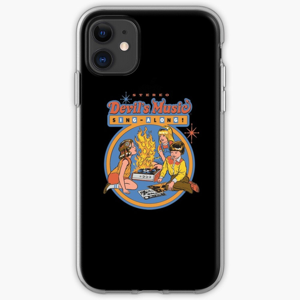 Devil's Music Sing-Along iPhone Case & Cover