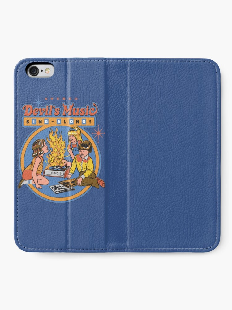 Alternate view of Devil's Music Sing-Along iPhone Wallet