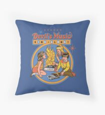 Devil's Music Sing-Along Throw Pillow