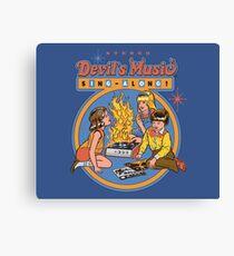 Lienzo Devil's Music Sing-Along