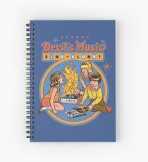 Devil's Music Sing-Along Spiral Notebook