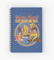 Devil's Music Sing-Along Spiral Notebook