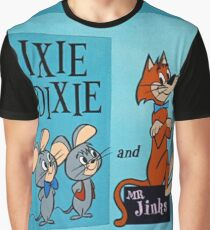 Pixie & Dixie Graphic T-Shirt