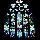 Window of St David's Cathedral, Hobart by Bev Pascoe