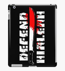 DEFEND HIALEAH! iPad Case/Skin