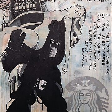 Ares Coffee Riot by EvictedArt