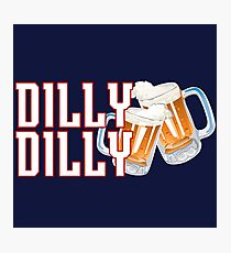 Dilly Dilly - Patriots Photographic Print