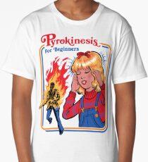 Pyrokinesis for Beginners Long T-Shirt