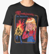 Pyrokinesis for Beginners Men's Premium T-Shirt