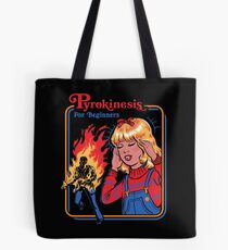 Pyrokinesis for Beginners Tote Bag