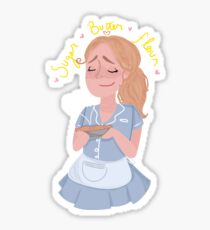 sugar butter flour - waitress the musical Sticker